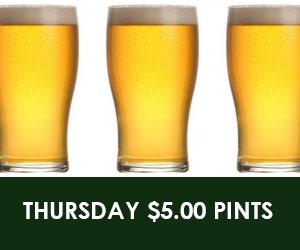 $5 Pints